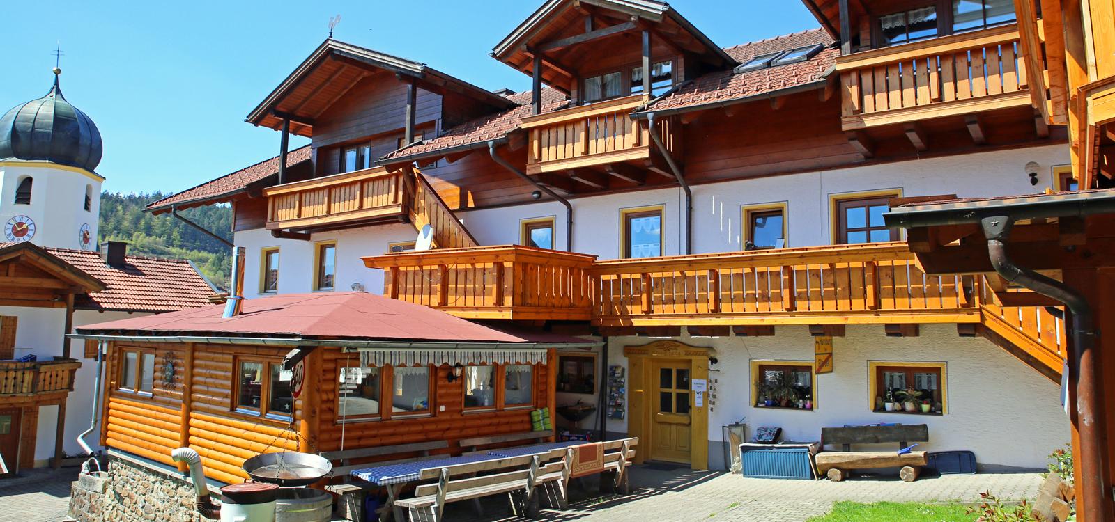 Gesundheits- und Wellnesshof Ellerbeck im Bayerischen Wald